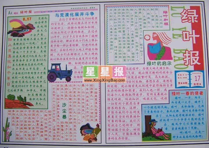 《台湾端午节》,小学生科技小报:电脑梦幻园