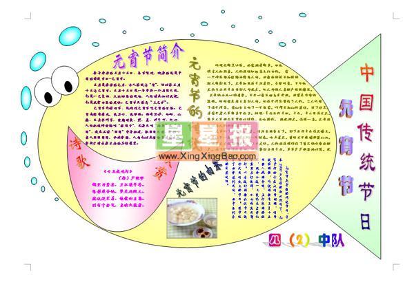 中国传统节日电子小报
