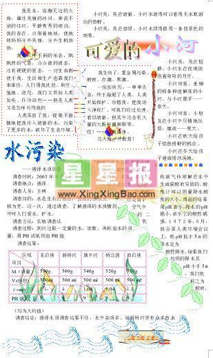 小学生 小报 环保 郝小兵/JPG,309x520,231KB,169_285...