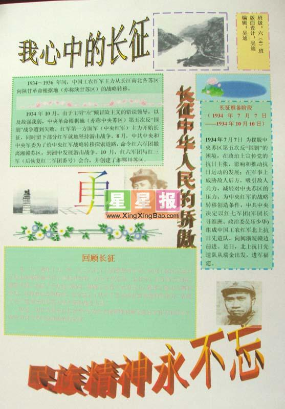 word小报模板:国际