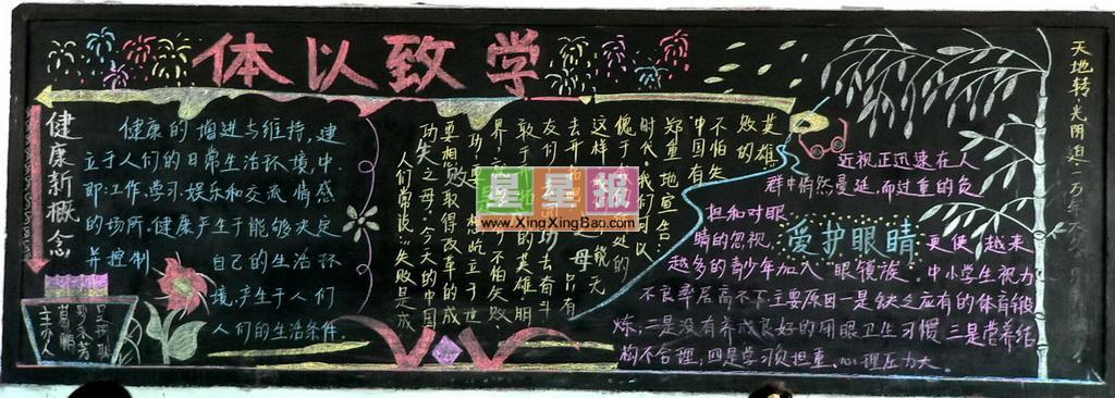 黑板报版面设计过程在和继龙老师的指导下完成