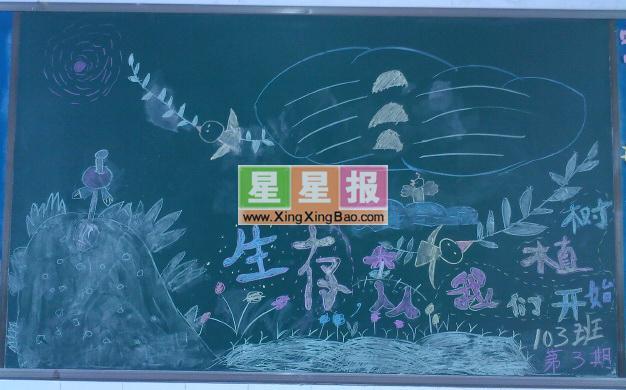 类 别: 小学生黑板报设计 学 校: 文登市宋村镇上徐村小学 版面设计