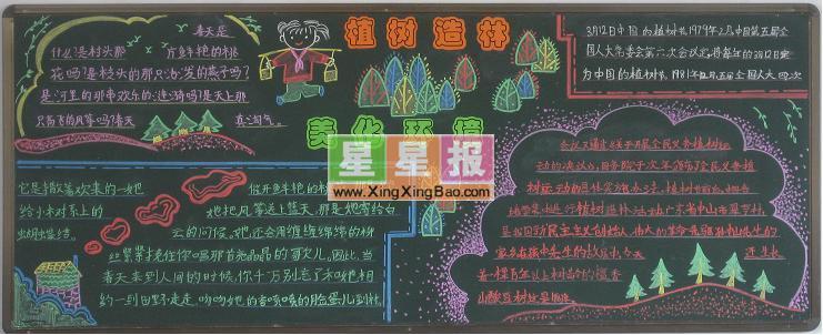 庆祝国庆黑板报版面设计图 星星报