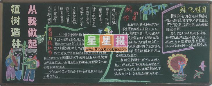 黑板报版面设计过程在周晓亮老师的指导下完成