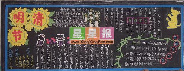 黑板報設計圖,四年級國慶板報圖片