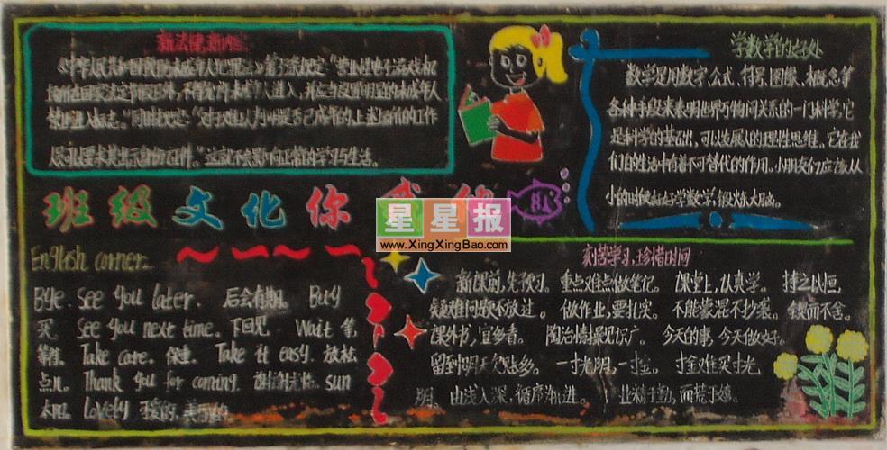 牛气冲天元旦快乐黑板报,新年大洋州行黑板报,中学生学习雷锋黑板报图片