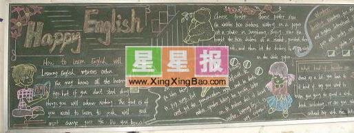 英语黑板报资料_HAPPYEnglish