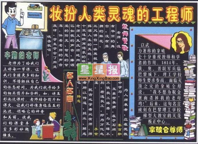 黑板报版面设计图