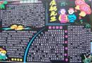 元旦节黑板报设计图片(中学生作品)