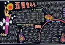 五四黑板报版面设计_人生的桥梁