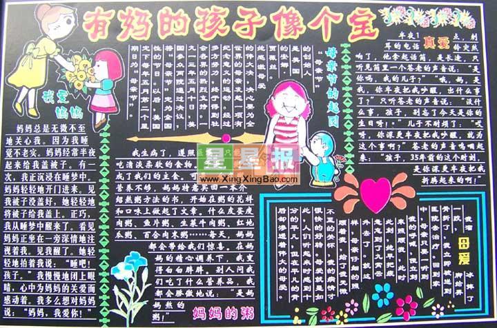 类 别: 黑板报版面设计图 学 校: 江山市大桥镇湖游小学 版面设计