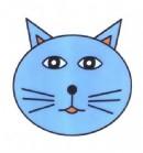 猫咪头像简笔画