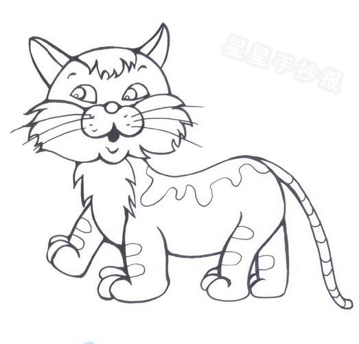 星星报 简笔画 动物简笔画 >> 正文内容   猫的寿命资料: 猫一般说来
