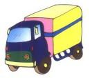 大货车简笔画怎么画