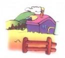 牧场简笔画