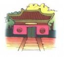 寺庙简笔画