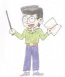 教师简笔画