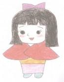 日本人物小叶子简笔画