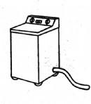洗衣机简笔画简单画法