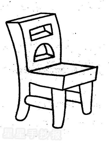 椅子简笔画图片教程