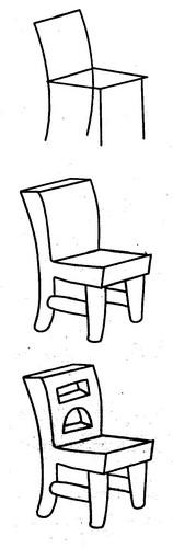椅子简笔画图片