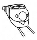 火车简笔画怎么画