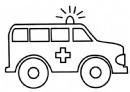 救护车简笔画图片教程