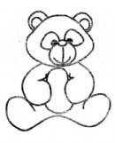 小布熊简笔画