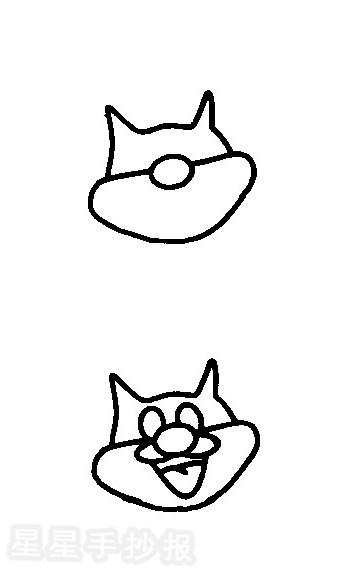 小松鼠简笔画图片