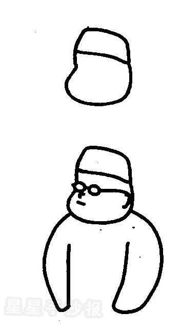 医生简笔画怎么画