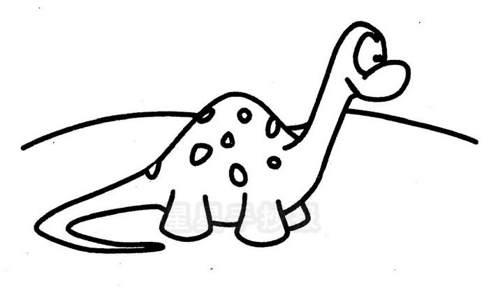 小恐龙简笔画