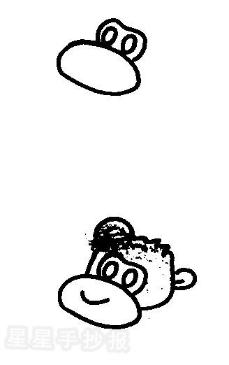 猩猩简笔画图片