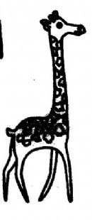 长颈鹿简笔画
