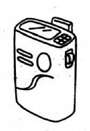 传呼机简笔画