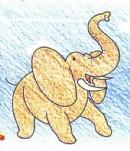 非洲象简笔画