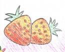草莓简笔画怎么画