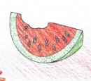 西瓜简笔画图片教程
