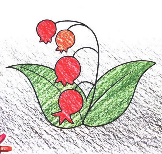 小花朵简笔画