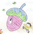 小茄子简笔画