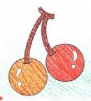 樱桃简笔画简单画法