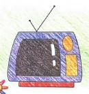 电视简笔画怎么画