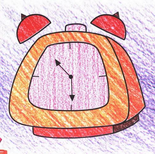 钟表简笔画图片