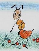 蚂蚁简笔画怎么画