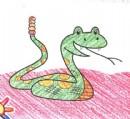 响尾蛇简笔画