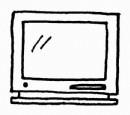 电视机简笔画怎么画