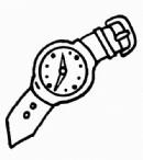 手表简笔画图片教程