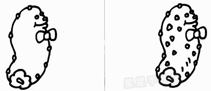 海参简笔画
