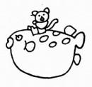 珍珠鱼简笔画
