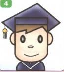 大学生简笔画