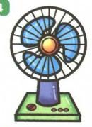 电风扇简笔画怎么画